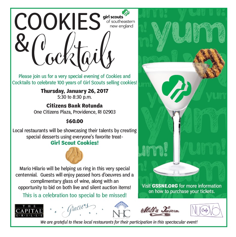 Cookies and Cocktails Event