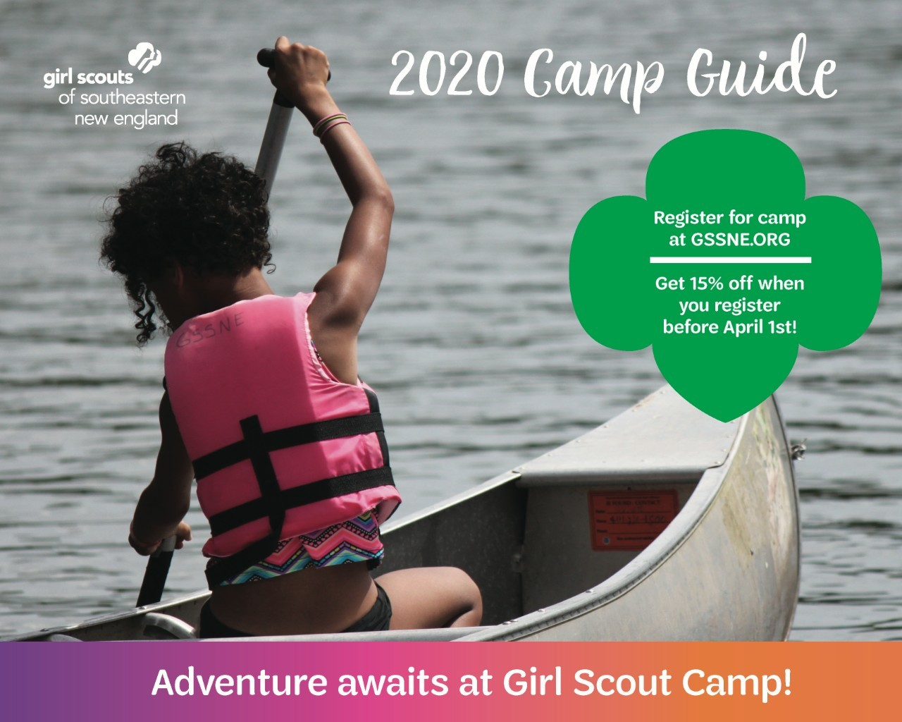 Camp Guide GSSNE 2020 Cover
