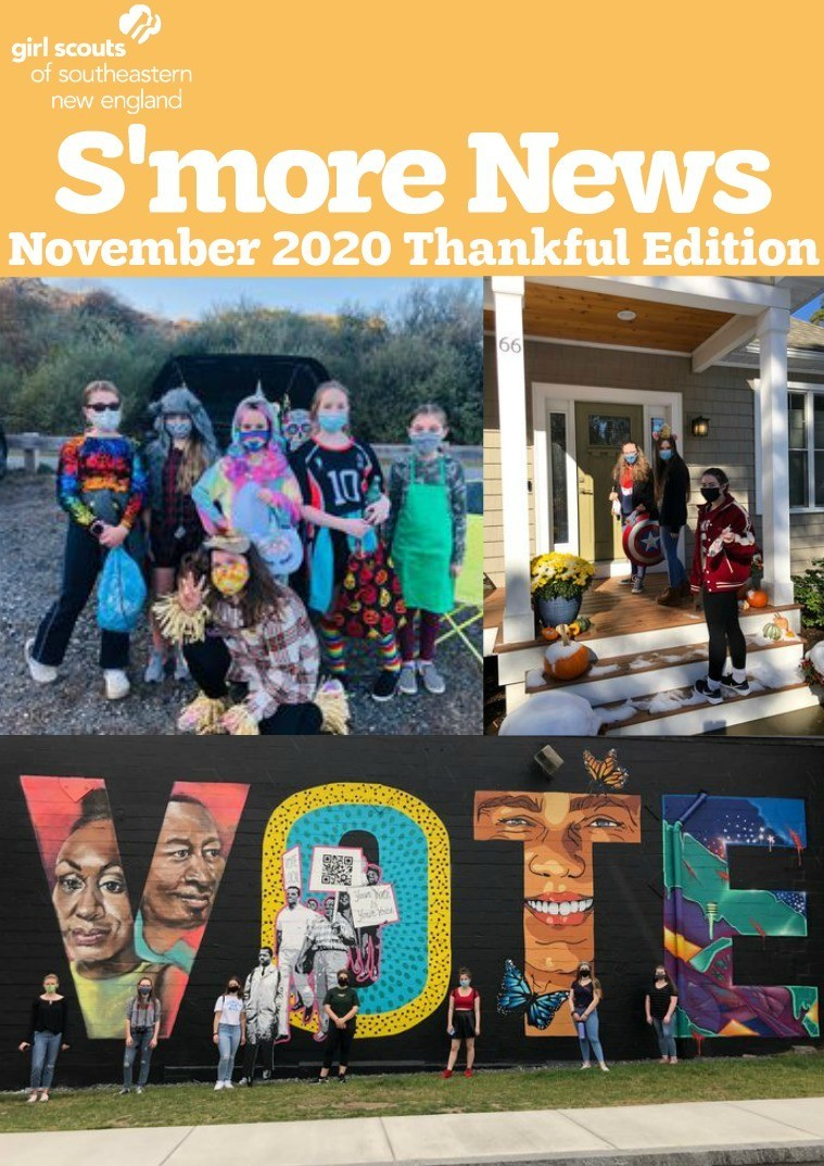 S'more News November 2020 Thankful Edition Cover