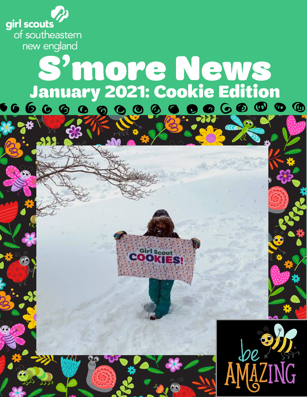 S'more News January 2021 Cookie Edition Cover