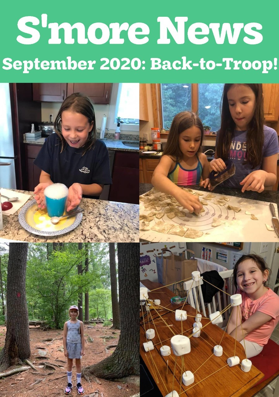 S'more News September 2020: Back-to-Troop Cover