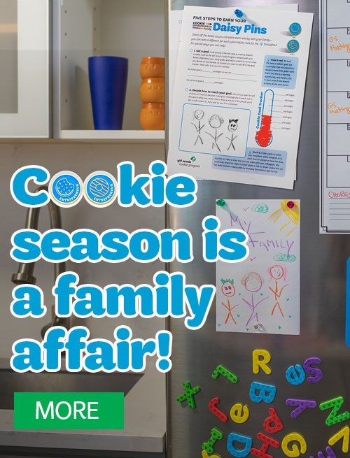 Cookie Season is a Family Affair!